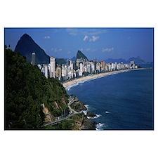 Buildings on the waterfront, Rio De Janeiro, Brazi