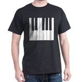 Piano Keyboard TShirt