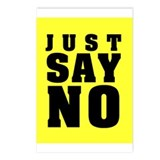 Just Say No With This  Postcards (Package of 8)