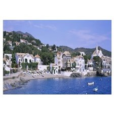 Buildings on the waterfront, Cadaques, Costa Brava
