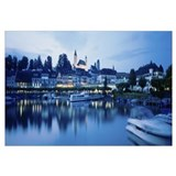 Switzerland, Rapperswil, Lake Zurich
