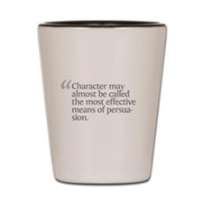 Aristotle Character Shot Glass