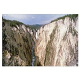 Wyoming, Yellowstone National Park, lower falls