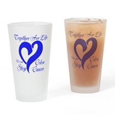 Stop Colon Cancer Drinking Glass