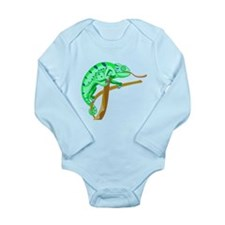 Chameleon Long Sleeve Infant Bodysuit