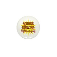 Square Dancing Mini Button (10 pack)