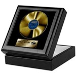 Dad Gold Disc Keepsake Box