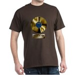 Dad Gold Disc Dark T-Shirt