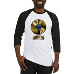 Dad Gold Disc Baseball Jersey