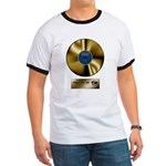 Dad Gold Disc Ringer T