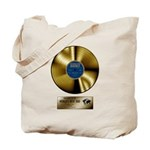 Dad Gold Disc Tote Bag