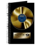 Dad Gold Disc Journal
