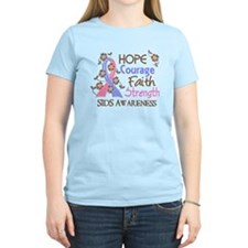 Hope Courage Faith SIDS Shirts T-Shirt