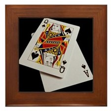 Cards Framed Tile