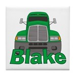 Trucker Blake Tile Coaster