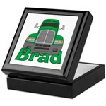 Trucker Brad Keepsake Box