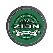 Zion Forest Wall Clock