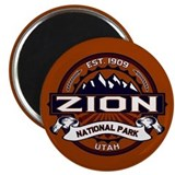 Zion Logo Vibrant Magnet