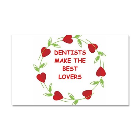 dentists Car Magnet 20 x 12