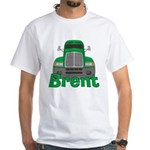 Trucker Brent White T-Shirt
