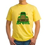 Trucker Brent Yellow T-Shirt