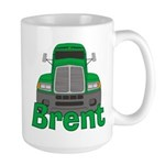 Trucker Brent Large Mug