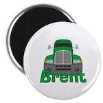 Trucker Brent Magnet