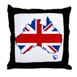 Poms in Oz Throw Pillow