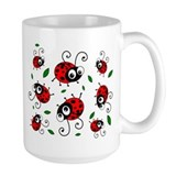 Cute Ladybug pattern Coffee Mug