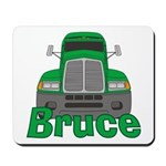 Trucker Bruce Mousepad