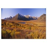 Hills on a landscape, Yukon, Canada