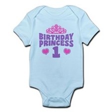 1st Birthday Princess Onesie