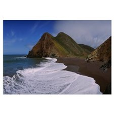 Surf on the beach, Tennessee Valley, Marin County,