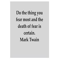 Mark Twain quote Wall Art