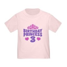3rd Birthday Princess T