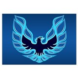 Firebird / Trans Am - Blue Wall Art
