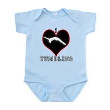 I Love Tumbling Infant Bodysuit