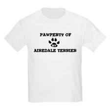 Pawperty: Airedale Terrier Kids T-Shirt