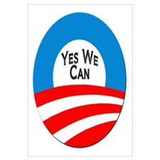 Yes We Can Logo Wall Art