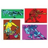 Pop Art Rugby Wall Art