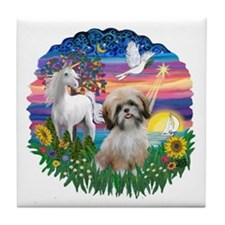 MagicalNight-ShihTzu#13 Tile Coaster