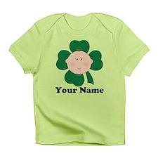 Personalized Irish Baby Shamrock Infant T-Shirt