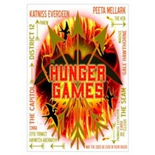 Hunger Games Collective Wall Art