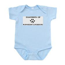Pawperty: Norwegian Lundehund Infant Creeper
