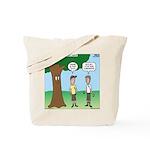 KNOTS Staff Hunt Camp Games Tote Bag