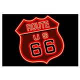 Route 66 Neon Wall Art