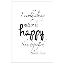 Rather Be Happy Wall Art