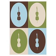 Cello Pop Art Wall Art