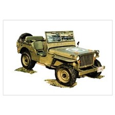 Willys Jeep Wall Art