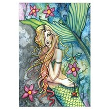 Colorful Mermaid Wall Art